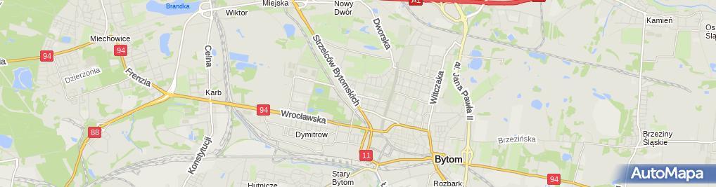 Zdjęcie satelitarne SPZOZ Wojewódzki Szpital Specjalistyczny Nr 4