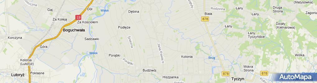 Zdjęcie satelitarne Szpital Specjalistyczny Ortovita
