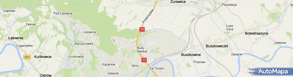 Zdjęcie satelitarne Szpital Wojewódzki