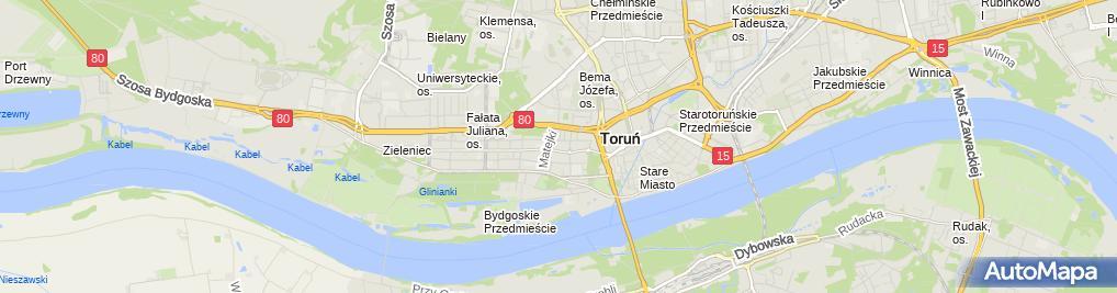 Zdjęcie satelitarne Wojewódzki Ośrodek Lecznictwa Psychiatrycznego