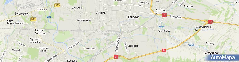 Zdjęcie satelitarne Tauron - Punkt Obsługi Klienta
