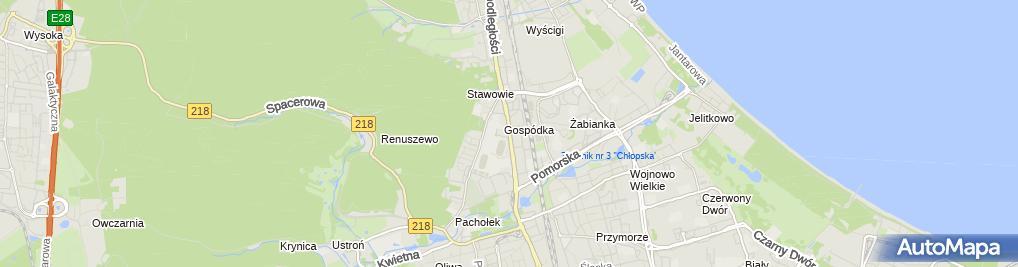 Zdjęcie satelitarne Postój Taxi