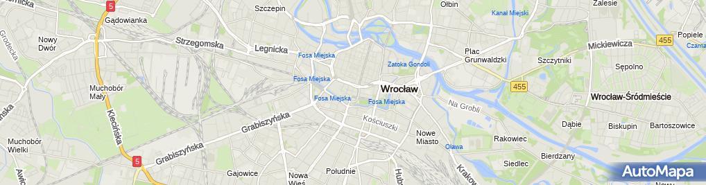Zdjęcie satelitarne Polski - Scena Kameralna