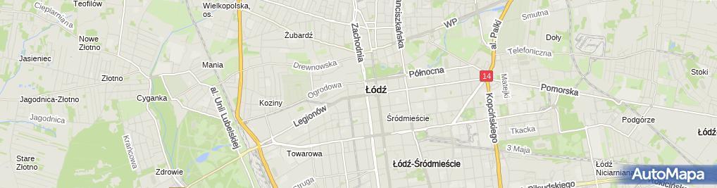 Zdjęcie satelitarne Powszechny