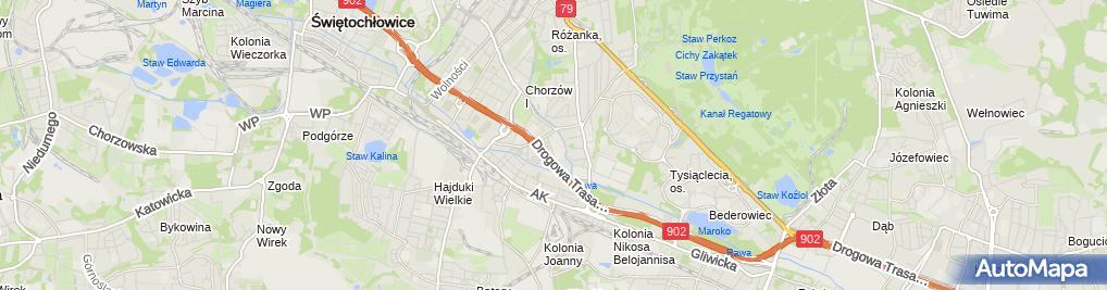 Zdjęcie satelitarne Technikum Elektroniczne W Zespole Szkół Elektroniczne