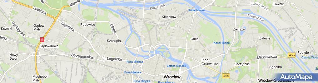 Zdjęcie satelitarne Serwis Nokia Wrocław / Microsoft Lumia Wrocław Jarkom-Serwis