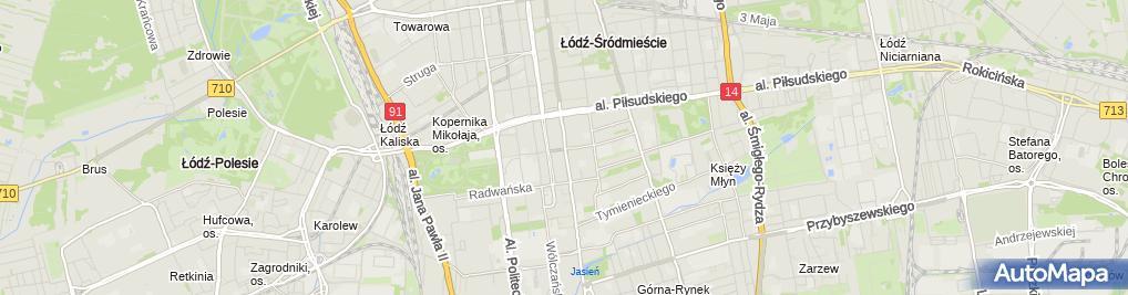 Zdjęcie satelitarne Biuro Tłumaczy Przysięgłych Kontekst Daniel Kononowicz