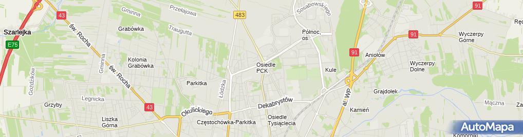 Zdjęcie satelitarne Tłumacz Przysięgły Języka Niemieckiego