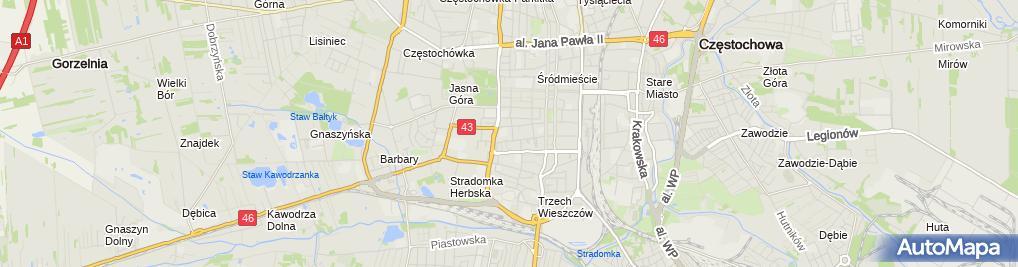Zdjęcie satelitarne Tłumacz Przysięgły Języka Ukraińskiego