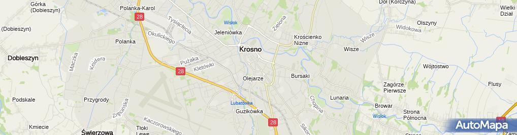 Zdjęcie satelitarne Biuro Tłumaczeń TKTRANSLATE