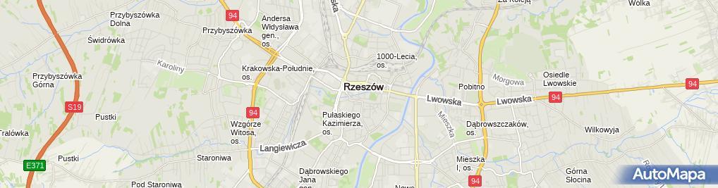 Zdjęcie satelitarne Centrum Tłumaczeń TSS Jakub Perdeus