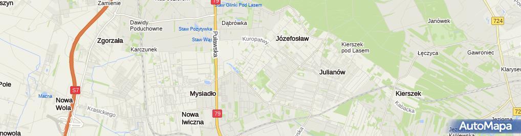 Zdjęcie satelitarne Interpret Biuro Tłumaczeń Mickiewicz Jan