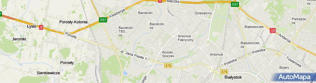 Zdjęcie satelitarne Top Market - Supermarket