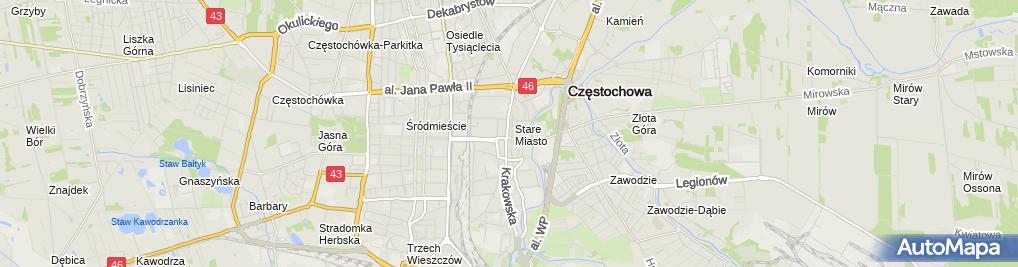 Zdjęcie satelitarne Totolotek SA - Zakład bukmacherski