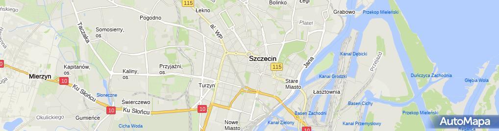Zdjęcie satelitarne Tuzzi - Sklep odzieżowy