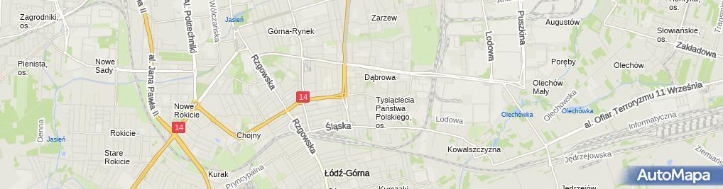 Zdjęcie satelitarne Trafika u Jakuba-sklep tytoniowy PHU Jakub s.c.