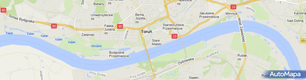 Zdjęcie satelitarne Agent Ubezpieczeniowy Krajewska Agnieszka