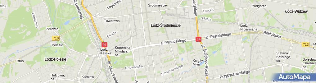 Zdjęcie satelitarne Świtalski & Borowska Agenci Ubezpieczeniowi