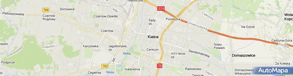 Zdjęcie satelitarne Take Care Polska
