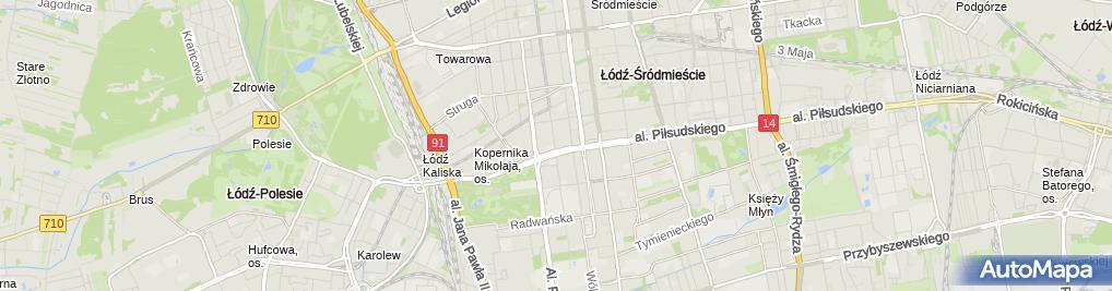 Zdjęcie satelitarne Uniqa - Ubezpieczenia