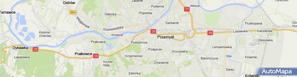 Zdjęcie satelitarne Urząd Statystyczny Oddział