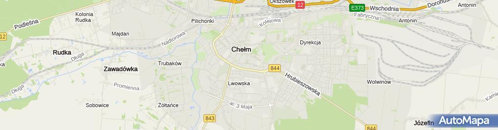 Zdjęcie satelitarne Urząd lokalny, gminny
