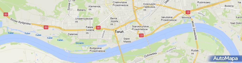 Zdjęcie satelitarne Urząd Marszałkowski