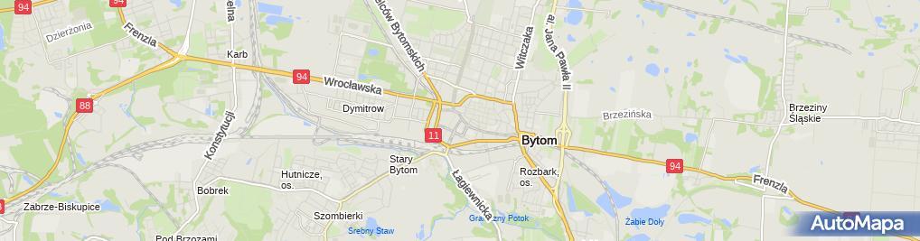 Zdjęcie satelitarne Bitec Pozycjonowanie Stron Bytom