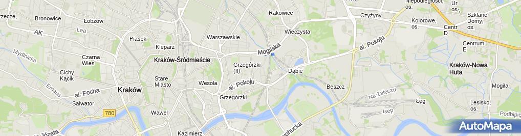 Zdjęcie satelitarne Geomix. Biuro Geologiczne Jarosław Garecki
