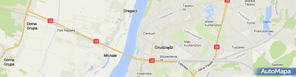 Zdjęcie satelitarne Kancelaria Notarialna Anna Kucab-Politewicz