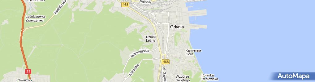 Zdjęcie satelitarne Kancelaria Radców Prawnych CIC Pikor Behnke Dmoch Fryzowski Spół