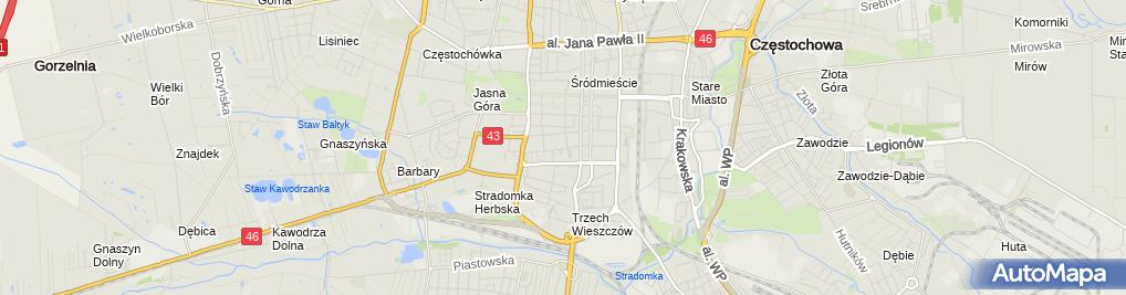 Zdjęcie satelitarne Kancelaria Radcy Prawnego Mariusz Kimus