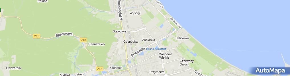 Zdjęcie satelitarne Nowacka-art