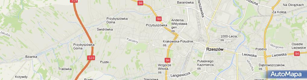 Zdjęcie satelitarne Olga Grzeszek - Wizaż i Charakteryzacja