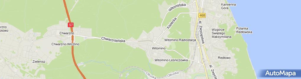 Zdjęcie satelitarne Przeprowadzki Gdynia