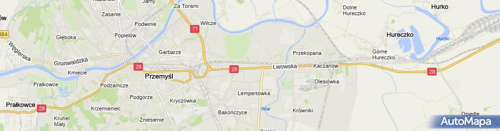 Zdjęcie satelitarne VIVE Profit - Sklep