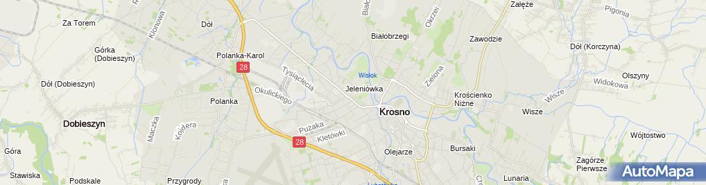 Zdjęcie satelitarne Auto-Usługi
