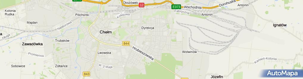 Zdjęcie satelitarne Blacharstwo - Górniak Janusz