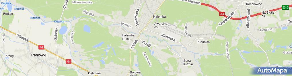 Zdjęcie satelitarne Czerny Serwis
