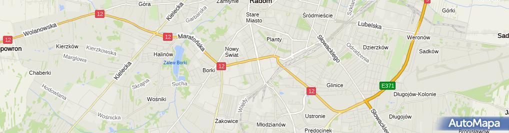 Zdjęcie satelitarne Ziętkowski Leszek - Blacharstwo i lakiernictwo