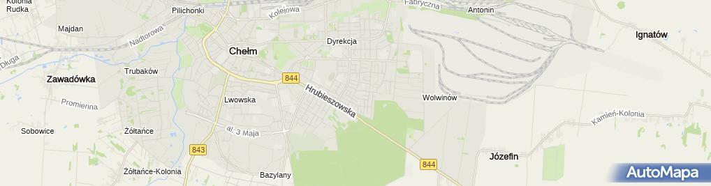Zdjęcie satelitarne Auto Naprawa - Charczuk Krzysztof