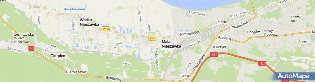 Zdjęcie satelitarne Auto-Szlif