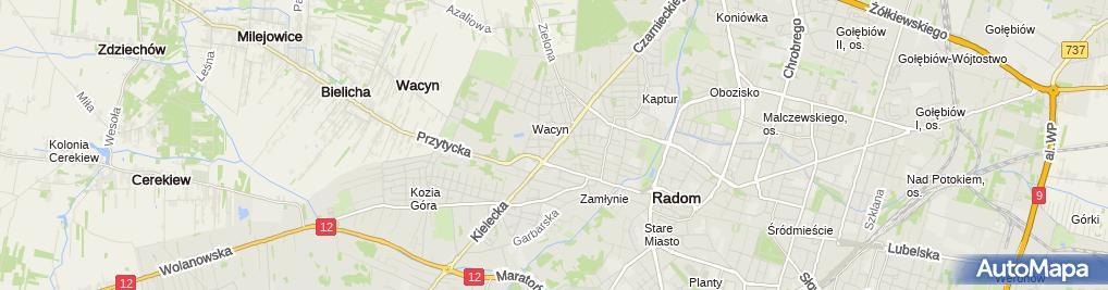 Zdjęcie satelitarne Emiter