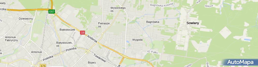 Zdjęcie satelitarne GVG