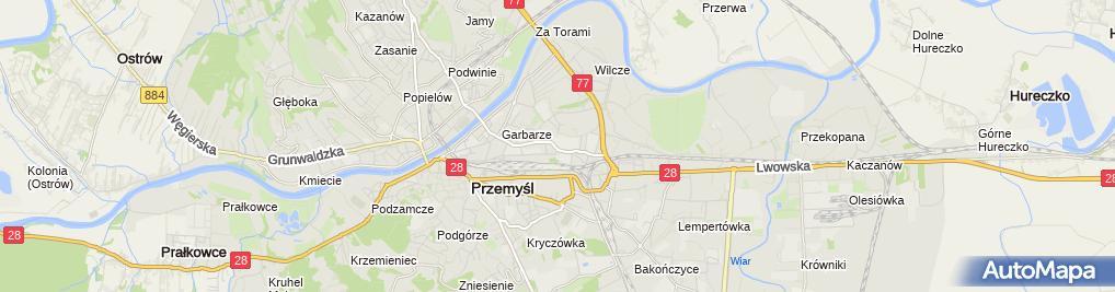 Zdjęcie satelitarne Mechanika - Górecki Dariusz