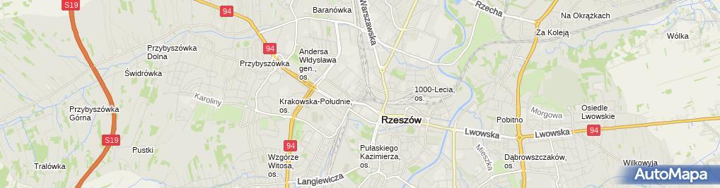 Zdjęcie satelitarne Naprawa Chłodnic