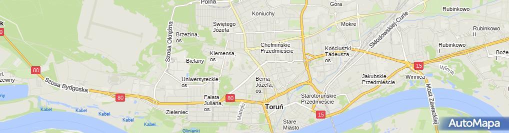Zdjęcie satelitarne Novtech Auto Serwis