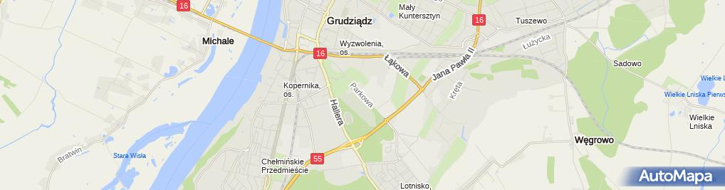 Zdjęcie satelitarne Pua Zakład Remontowy