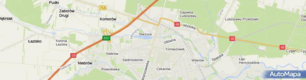 Zdjęcie satelitarne RS Auto Serwis