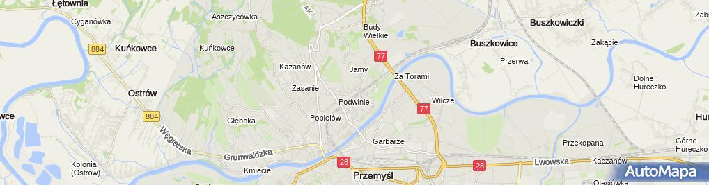 Zdjęcie satelitarne Serwis - Pusz Andrzej